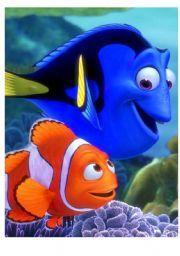 English teaching worksheets: Finding Nemo