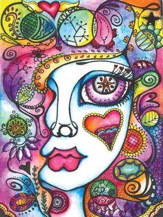 Soms is alles wat je nodig hebt een beetje kleur(en) in je leven... #kleur #vrolijk