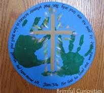 """Earth Crafts For Preschool - Bing Images change the verse to """"In the beginning God created the heavens and the earth"""" for Creation Week."""
