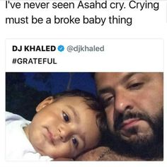 Its true tho! I've never seen Asahd cry! Funny Tweets, Funny Relatable Memes, Funny Facts, Funny Jokes, Hilarious, Lol, Stupid Funny, Funny Stuff, Funny Things