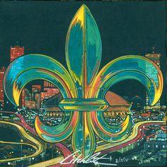 Our City (The Triumph of our New Orleans Saints) Facebook.com/litchliterart