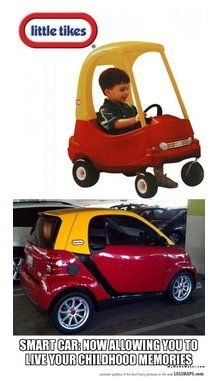 Little Tikes / Smart Car #humor
