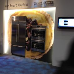The @Control4, Sub-Zero and Wolf Smart Kitchen makes its debut at KBIS 2012.