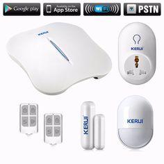 $12.60 (Buy here: https://alitems.com/g/1e8d114494ebda23ff8b16525dc3e8/?i=5&ulp=https%3A%2F%2Fwww.aliexpress.com%2Fitem%2FWIFI-PSTN-home-house-security-alarm-system-KERUI-motion-detector-fire-smoke-alarm-detector-anti-pet%2F32702756074.html ) WIFI PSTN home house security alarm system KERUI  alarm  indoor smart scoket for just $12.60