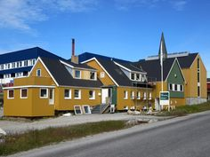The Nuuk Kunstmuseum is a private fine arts gallery in Nuuk, Greenland. Nuuk Greenland, Atlantic Ocean, Archipelago, Fine Art Gallery, Continents, Denmark, North America, Scandinavian, Tours