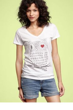 I Love U... Threadless & GAP