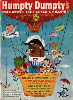 April 1965 by Linzie Hunter, via Flickr My grandma got me a subscription to this when I was little!