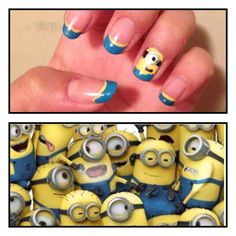 Minions despicable me 2 nails