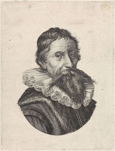 Jan Harmensz. Muller   Portret van Johan Fonteyn, Jan Harmensz. Muller, Anonymous, 1626 - 1678   Portret van Johan Fonteyn, arts te Amsterdam.
