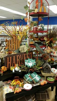 Autumn Display - East Troy Autumn Displays, East Troy, Fall Decor, Table Decorations, Store, Furniture, Home Decor, Decoration Home, Room Decor