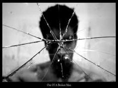 Much like the mirror, Hamlet is broken. He has lost his soul and everything important in his life in the pursuit of vengeance. When he looks in the mirror all he sees is a shattered reflection of the man he once was.
