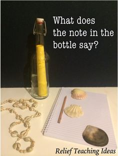 Creative Writing Prompt - What does the note say?