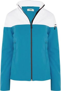 Fendi - Two-tone Ski Jacket - Sky blue - IT