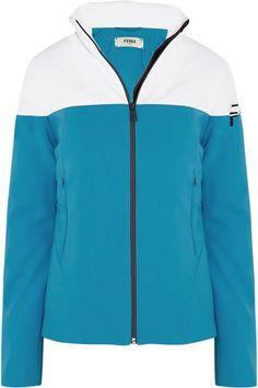 Fendi - Two-tone Ski Jacket - Sky blue - IT