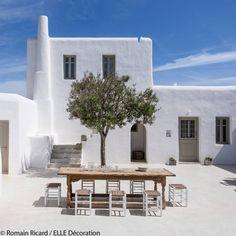 maison de vacances grèce - Elle Décoration