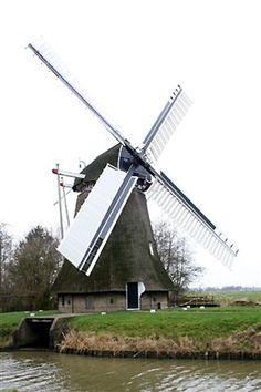 Polder mill De Marssumermolen, Marssum, The Netherlands
