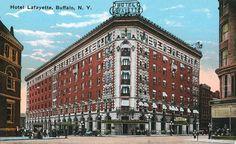 Lafayette Hotel, Buffalo, NY