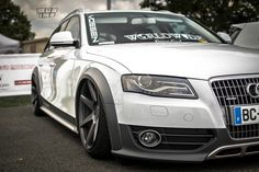 """Audi All Road with 20"""" Vossen CV7's"""