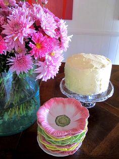 Lovely flower dishes