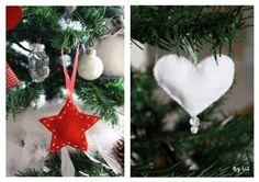 Réaliser des décorations de Noël en feutrine