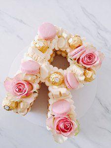 Alphabet R Cake . Alphabet R Cake . Number Birthday Cakes, 25th Birthday Cakes, Number Cakes, Alphabet Cake, Deco Buffet, Cake Lettering, Fun Baking Recipes, Occasion Cakes, Cake Tutorial