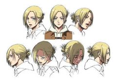 Annie Leonhardt | Artwork Samples | Expressions | SNK/AOT