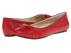 JULIA - 2ND ROUND Fitzwell Avery Red Leather - Zappos.com Free Shipping BOTH Ways