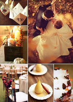 #Autumn #wedding ideas