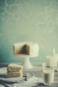 Vanilla Sponge Cake with a Vanilla Buttercream Icing