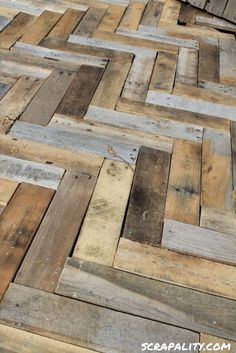 Scrapality: Project: Pallet Deck by leticia