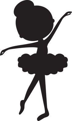 siluetas de niñas bailarinas de ballet clasico - Buscar con Google