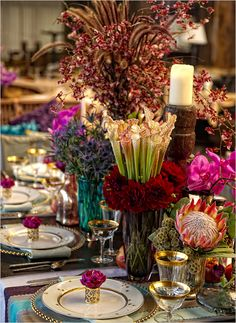 exotic wedding ideas this is a bit over the top but love all the colours