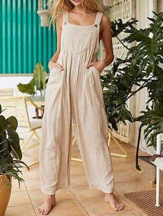EBUYTIDE Casual Solid Color Spaghetti Straps Jumpuit – ebuytide Jumpsuit Casual, Overall Jumpsuit, Jumpsuit Outfit, Sequin Jumpsuit, Pink Jumpsuit, Floral Jumpsuit, Jumpsuit For Kids, Plus Size White Jumpsuit, Petite Jumpsuit