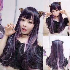 GET $50 NOW | Join RoseGal: Get YOUR $50 NOW!http://www.rosegal.com/cosplay-wigs/harajuku-long-straight-full-bang-1103186.html?seid=9085873rg1103186