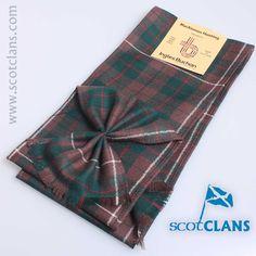 MacKinnon Hunting Tartan Mini Sash from ScotClans