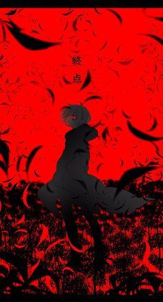 """七秋 trên Twitter: """"終点/まふまふ… """" Anime Chibi, Manga Anime, Sad Anime, Cute Anime Boy, Anime Demon, Anime Boys, Anime Art, Tokyo Ghoul Wallpapers, Ken Tokyo Ghoul"""