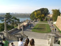 Kalemegdan is the most beautiful and biggest park in Belgrade, which is also the most important cultural and historical complex, in which the Belgrade Fortress stands high above the Sava and Danube confluence. The name Kalemegdan applies only to the spacious plateau surrounding the Fortress, which was turned into a park in the eighties of the XIX century.