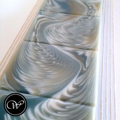 """Zig-Zag Cosmic Wave"" | Handmade soap by Fräulein Winter."