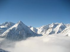 Clouds & the Alpes