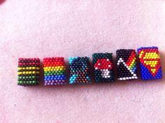 The Dreaded Bead - peyote stitch dread beads :: #dreadstop
