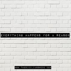 You may not always be able to see why things happen [especially hardships losses etc.] but every step we take on this journey has meaning. This statement keeps my faith alive. Remember this today.  #everythinghappensforareason #thesicilianswede #qotd #faith