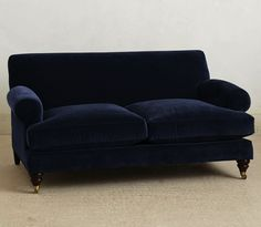 Anthropolgie Willoughby Settee/Remodelista 69 x 43 x 33h $1600