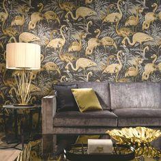 Arte Wallpaper Flamingo - Avalon | Designer Wallpaper 2016 | TM Interiors Limited