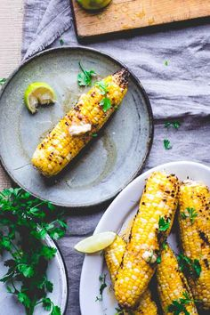 Grilled sweet corn with chipotle and lime butter: a new take on a classic summer side.