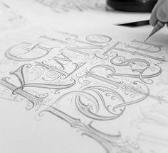 "Páči sa mi to: 255, komentáre: 2 – Mateusz Witczak Designs (@mateuszwitczakdesigns) na Instagrame: ""Abcdef... ✍ #handlettering #lettering #drawing #pencil #typography #calligraphy #customlettering…"""