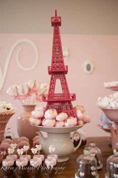 Pink Paris French Girl Party