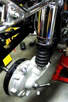 1979 Honda Goldwing rear shock absorber