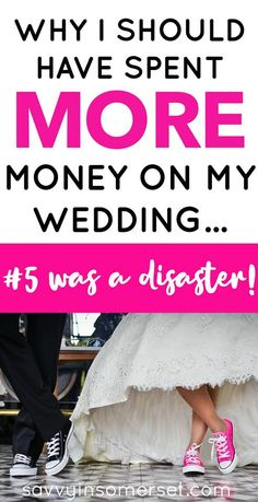 Why I wish we had spent more money on our wedding. Weddings are super expensive, there's no doubt about that. Here's why I actually wish we had spent more money on ours. Wedding Guest List, Budget Wedding, Wedding Planner, Our Wedding, Wedding Reception, Wedding Stuff, Wedding Ideas, Frugal Living Tips