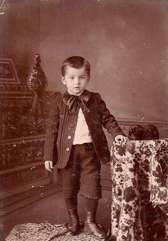 Victorian boy by sctatepdx, via Flickr