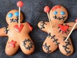 Need to release some inner anger this Halloween? Try baking and breaking some voodoo cookies.